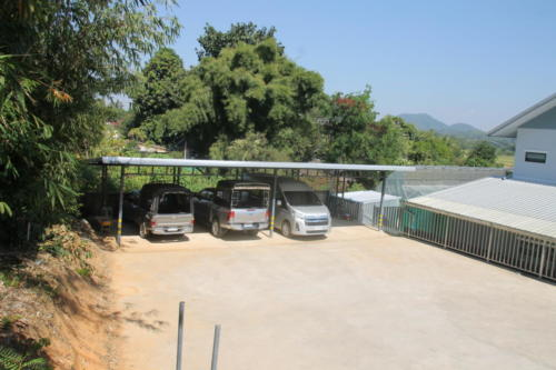 S2S vehicle parking area.