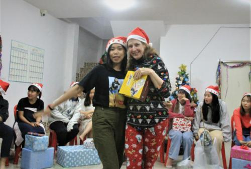 Jaam was Susie's Christmas buddie!