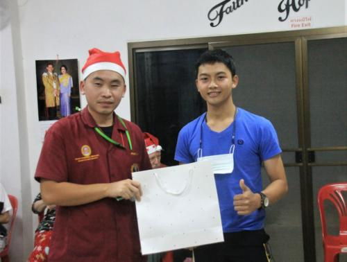 Pon was Jasa's Christmas buddy.